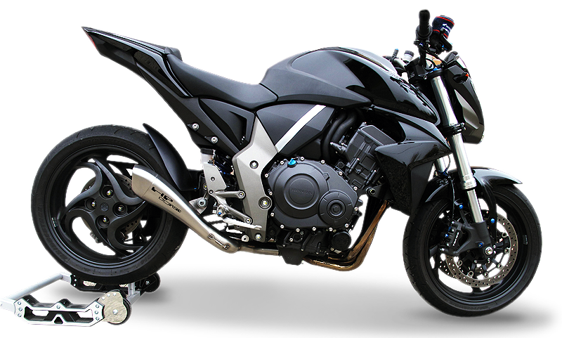 hp corse silencer hydroform satin honda cb1000r low position rev 1. Black Bedroom Furniture Sets. Home Design Ideas