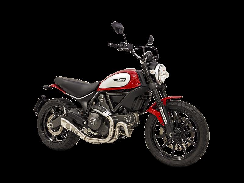 Hp Corse Terminale Hydroform Satinato Ducati Scrambler Rev 0d