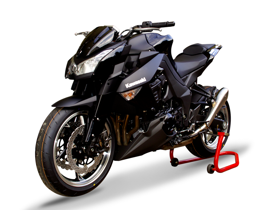 hp corse dual silencer hydroform satin kawasaki z 1000 sx. Black Bedroom Furniture Sets. Home Design Ideas