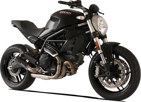 Picture of TERM GP07 DX A304 BLACK DUCATI MONSTER 797 CHIOCCIOLA DBK GHIERA RACE