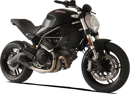 Picture of TERMINALE GP07 DX A304 BLACK DUCATI MONSTER 797 DBK GHIERA RACE