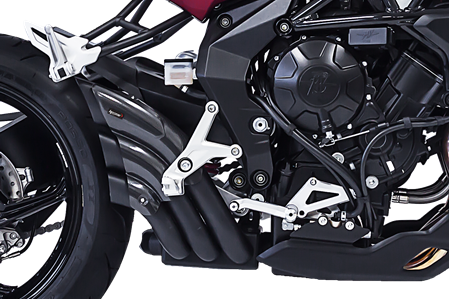 Picture of SILENCER HYDRO TRE CG A304 BLACK MV AGUSTA DRAGSTER 800/RR