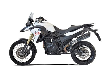 Picture of TERMINALE EVOXTREME 310 SX A304 BLACK BMW F800GS/ADV. 2008-16 EURO-3