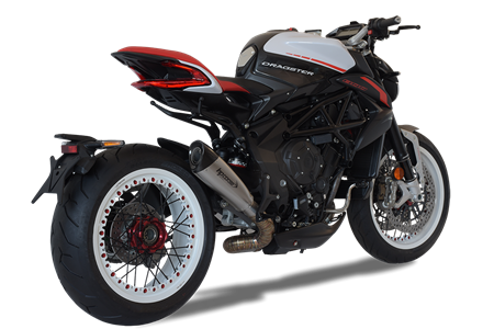 Picture of SILENCER EVOXTREME 310 DX TITANIUM MV AGUSTA DRAGSTER 2018 LOW POSITION