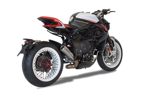 Picture of TERMINALE GP07 GHIERA DX A304 SATINATO MV AGUSTA DRAGSTER 2018 BASSO