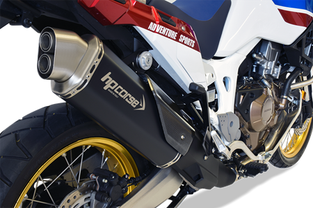 Picture of SILENCER 4TRACK DX A304 BLACK HONDA AFRICA TWIN EURO-4