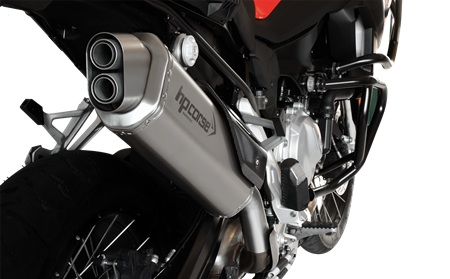 Picture of HP-4TR TERMINALE 4-TRACK SATIN  BMW F 850 GS 2019