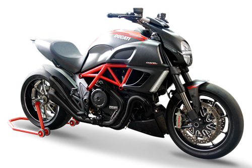 Immagine di TERMINALE HYDROFORM BLACK DUCATI DIAVEL Rev.0