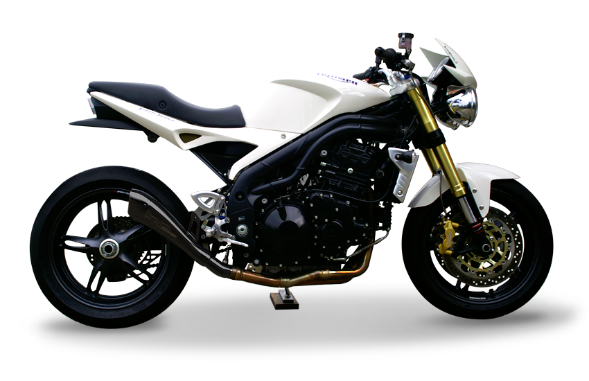 Immagine di TERMINALE HYDROFORM BLACK TRIUMPH SPEED TRIPLE 04-06 Rev.2a
