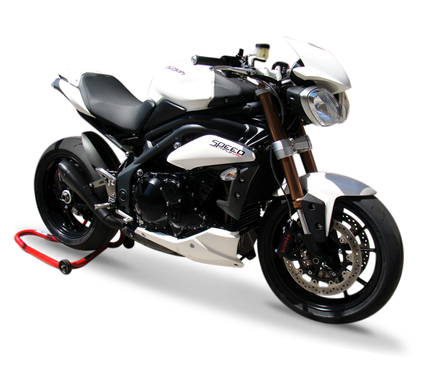 Immagine di TERMINALE HYDROFORM BLACK TRIUMPH SPEED TRIPLE 11-14 Rev.5b