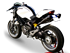 Immagine di TERM HYDROFORM DOPPIO ALTO A304 BLACK DUCATI MONSTER 696/769/1100S