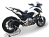 Picture of SILENCER HYDROFORM BLACK RACE HONDA NC700-750 S/X