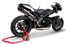Picture of SILENCER EVO260 A304 SATIN TRIUMPH SPEED TRIPLE 11-14 DUAL HIGH POSITION