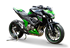 Picture of SILENCER HYDROFORM BLACK KAWASAKI Z 800 Rev.1
