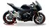 Picture of SILENCER EVOXTREME 310 A304 SATIN APRILIA TUONO V4 R