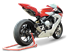 Picture of SILENCER EVOXTREME 310 DX A304 SATIN MV AGUSTA F3 675-800 LOW POSITION