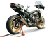 Picture of SILENCER EVOXTREME 260 DX A304 SATIN YAMAHA FZ8 EXTRA UE