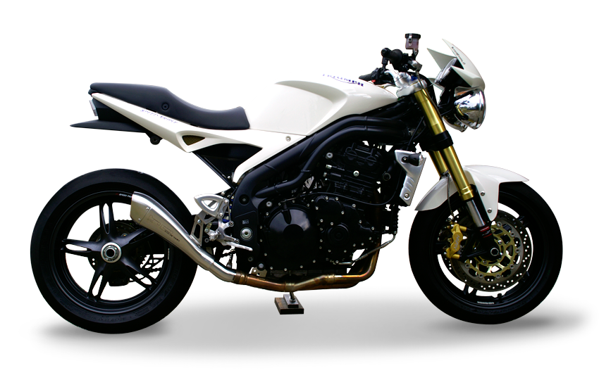 Picture of SILENCER HYDROFORM SATIN TRIUMPH SPEED TRIPLE 04-06 Rev.2