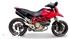 Picture of SILENCER EVOXTREME 310 A304 BLACK DUCATI HYPERMOTARD 1100 LOW POSITION