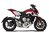 Picture of SILENCER HYDRO TRE CP A304 SATIN MV AGUSTA BRUTALE/DRAGSTER
