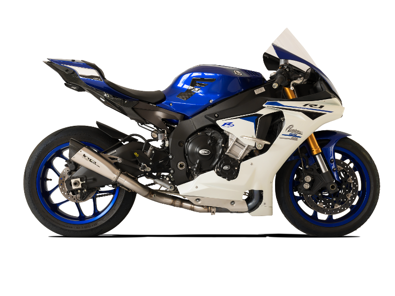 Picture of TERMINALE EVOXTREME 260 DX A304 SATINATO YAMAHA R1 BASSO RACING