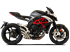 Picture of SILENCER HYDRO TRE CP A304 SAT MV AGUSTA BRUTALE 2016 EXT-UE