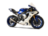 Picture of TERMINALE GP07 DX A304 SATINATO YAMAHA R1 RACING DBK GHIERA