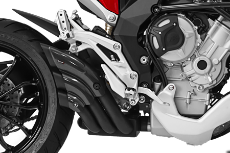 Picture of SILENCER HYDRO TRE CG A304 BLACK MV AGUSTA TURISM VEL/STRAD