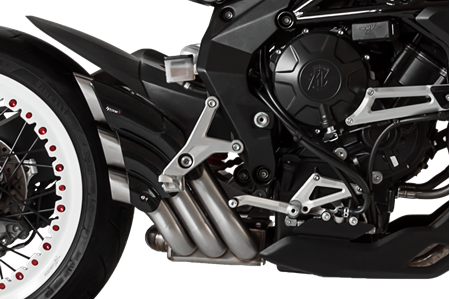 Picture of SILENCER HYDRO TRE CG A304 SATIN MV AGUSTA BRUTALE/DRAGSTER