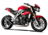 Picture of TERMINALE HYDROFORM DX A304 BLACK TRIUMPH SPEED TRIPLE 16-17 RACING