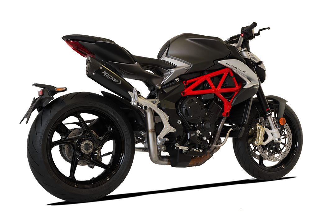 Picture of SILENCER EVO 310 DX A304 BLACK MV AGUSTA BRUTALE/DRAGSTER 2016 HIGH POS