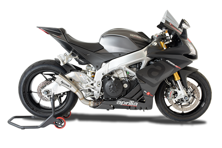 Picture of TERMINALE HYDROFORM-SHORT DX A304 SATINATO APRILIA RSV4 2015-16 RACE