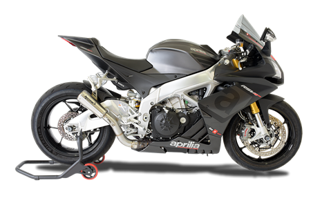 Picture of TERMINALE GP07 DX SATIN CON RETE APRILIA RSV4 2015 2016 (ONLY FOR RACE)