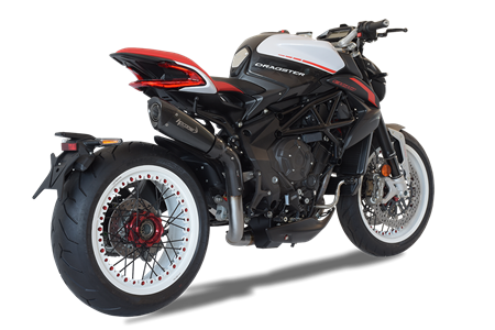 Picture of TERMINALE EVO 310 DX A304 BLACK MV AGUSTA DRAGSTER 2018 ALTO