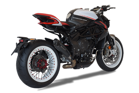 Picture of TERMINALE EVOXTREME 310 DX A304 BLACK MV AGUSTA DRAGSTER 2018 BASSO