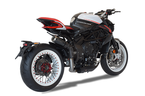 Immagine di TERMINALE GP07 DX A304 BLACK MV AGUSTA DRAGSTER 2018 ALTO