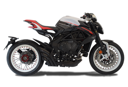 Picture of TERMINALE HYDRO TRE CG A304 BLACK MV AGUSTA DRAGSTER 2018