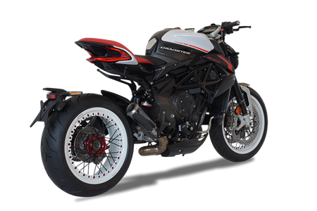 Picture of TERMINALE GP07 GHIERA DX A304 BLACK MV AGUSTA DRAGSTER 2018 BASSO