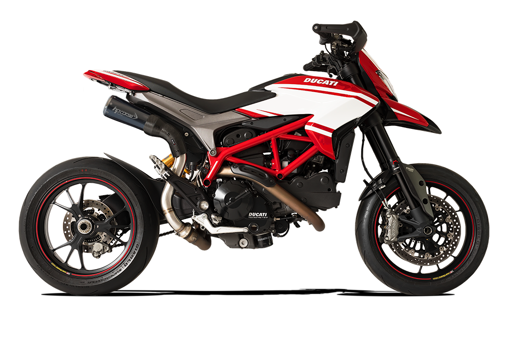 Immagine di TERM GP07 DX ALTO A304 BLACK DUCATI HYPERMOTARD/HYPERSTRADA 821 DBK RETE