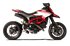 Picture of TERM GP07 DX ALTO A304 BLACK DUCATI HYPERMOTARD/HYPERSTRADA 821 DBK GHIE