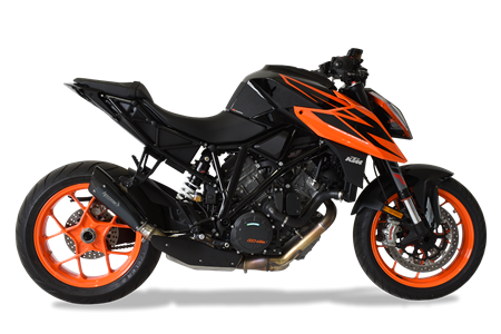 Picture of TERMINALE EVOXTREME 260 DX A304 BLACK KTM 1290 SUPERDUKE R  '18-'19 RACE