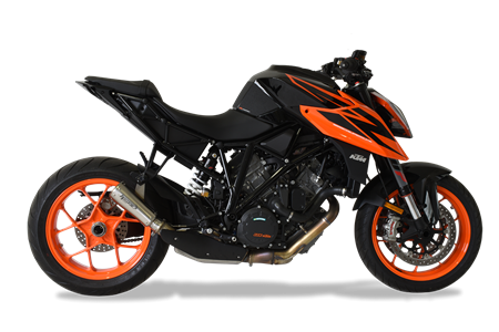 Immagine di TERMINALE GP07 DX A304 SATIN KTM 1290 SUPERDUKE '18-'19