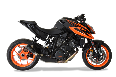 Immagine di TERMINALE GP07 DX A304 BLACK KTM 1290 SUPERDUKE '18-'19