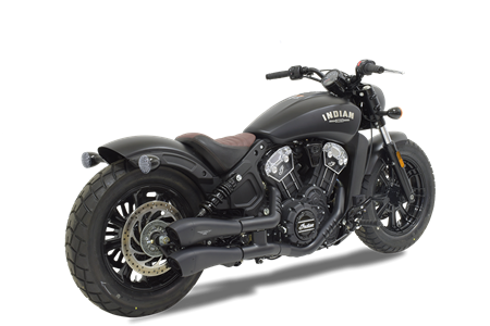 Picture of TERMINALE HYDROFORM DOPPIO A304 CERAMIZZATO  INDIAN SCOUT BOBBER