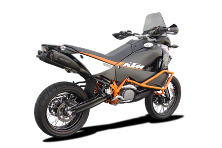 Picture of HP-EVO DOPPIO TERM. EVOXTREME 310 A304 BLACK KTM 990 ADVENTURE/R ALTO