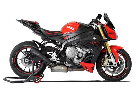 Picture of TERMINALE HYDROFORM SHORT R BLACK BMW S1000 R