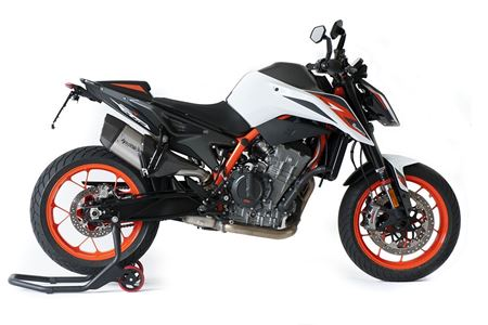 Picture of TERMINALE SP-3 CARBON SHORT R TITANIO KTM 890 DUKE (OMOLOGATO EURO 5)